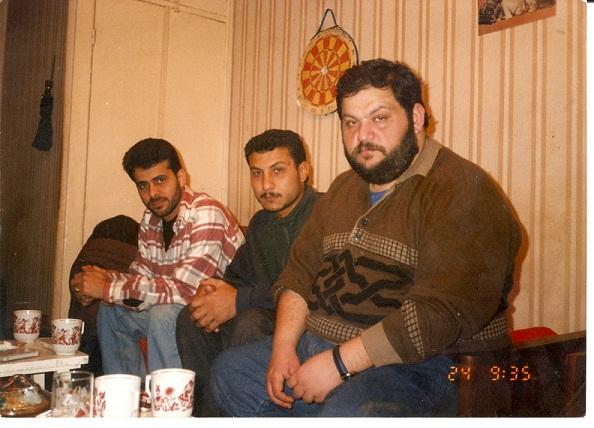 صورة مع الفنان العراقي مهند محسن